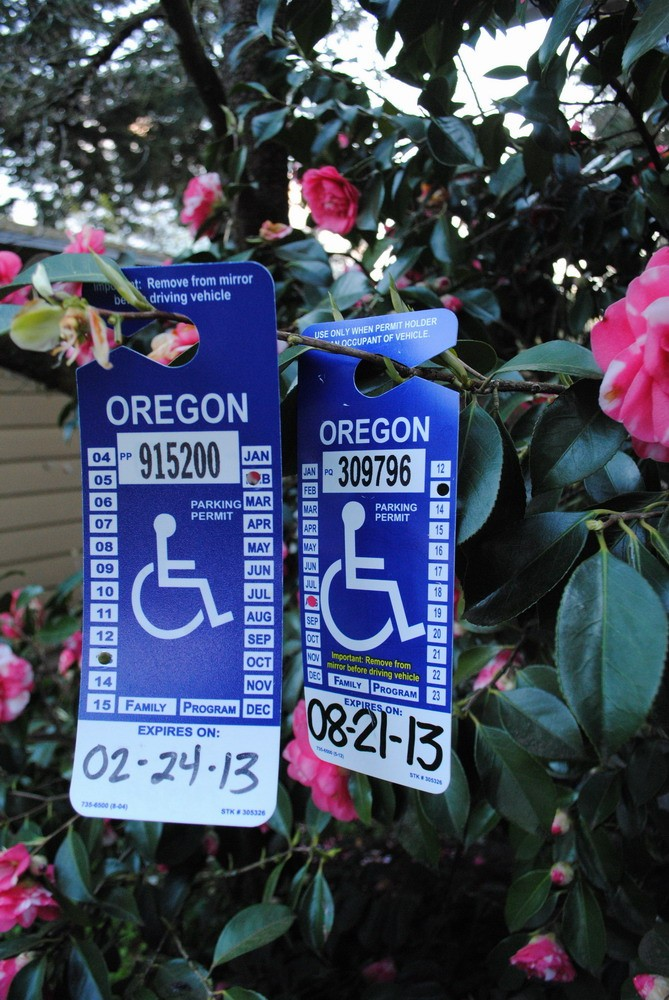 Handicapped placards