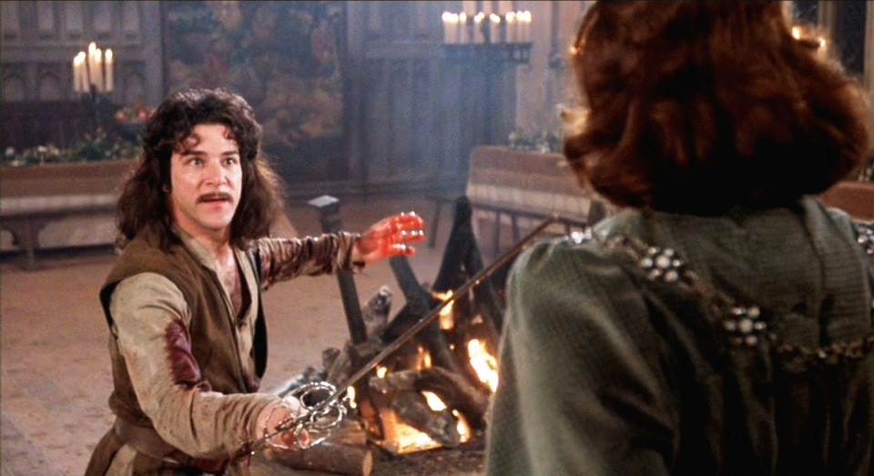 My name is Inigo Montoya. You killed my spouse. Prepare to . . .